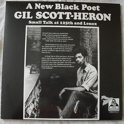 Gil Scott-Heron, A New Black Poet, Small Talk At 125Th And Lenox -Reissue