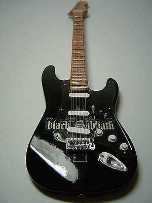 Black Sabbath Miniature Guitar