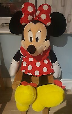 "Huge / Large Disney MINNIE MOUSE SOFT PLUSH TOY 31"" Inches / 80cm"
