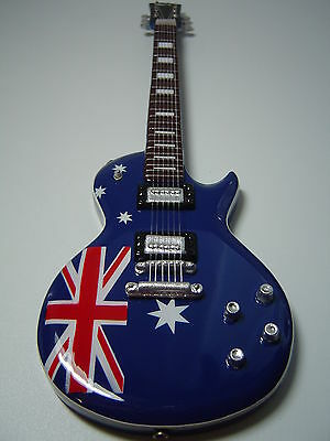 Les Paul - Australia Flag Miniature Guitar