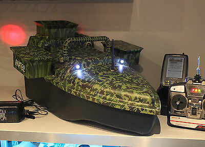 Anatec Bait Boat Fish Finder Yachting FC 500 Sonar triple Hopper graupner x-412