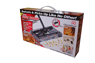Swivel Sweeper Cordless Black As Seen On Tv Original Swivel Sweeper Brand New