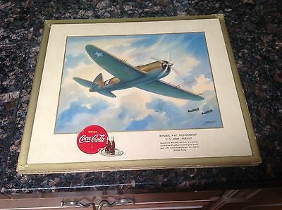 WW2 Coca Cola picture P-47 Thurderbolt