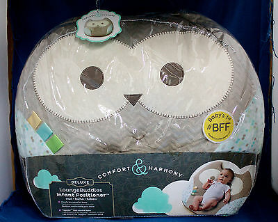 NIP COMFORT & HARMONY Deluxe Owl Lounge Buddies Infant Petitioner
