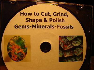 How To Cut Grind Shape Polish Gems Minerals Fossils