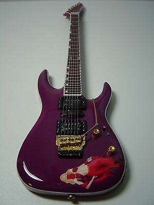 Emppu Vuorinen Harem Red Girl Miniature Guitar