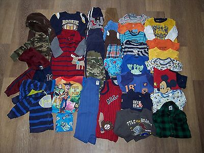 36 pc Lot Baby Boy Clothes 9-12 Months 12 Month