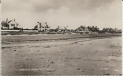 Early Postcard - Troon - Barrassie From West -  Ayrshire - Scotland  -Real Photo