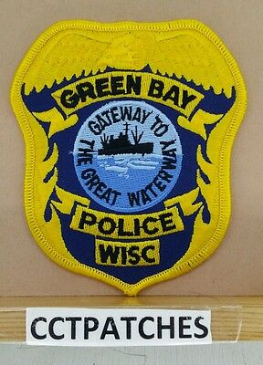 Green Bay, Wisconsin Police Shoulder Patch Wi