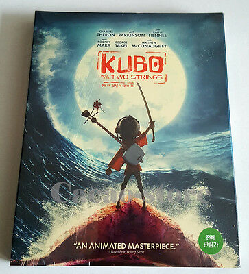 Kubo and the Two Strings (2 disc : 3D+2D Blu-ray) / Region A