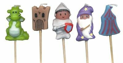 Medieval Party Candles- Pack of 5