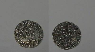 Silver Penny Anglo-Saxon for cataloging ..Weight.- 1,19 gr. 14 mm.