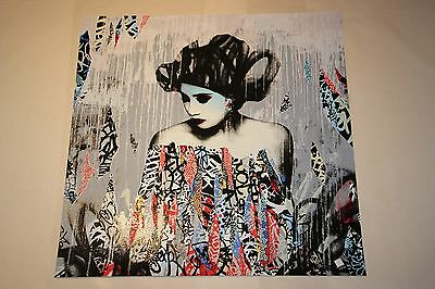 Hush Siren In Motion Single Siren Limited Edition print, Signed & Numbered /150