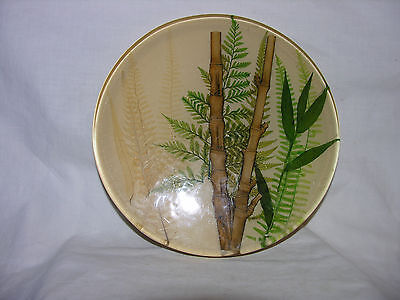 Vintage Acrylic Lucite Bamboo TRIVET Hot pad