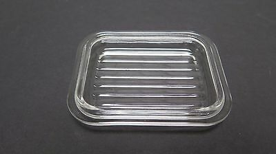 Replacement Lid Pyrex Small Refrigerator Dish  501-C Ribbed