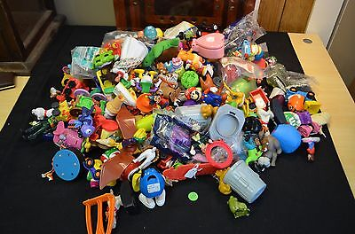 Vintage Happy Meal Toys M&M, and Misc Toys Huge Lot