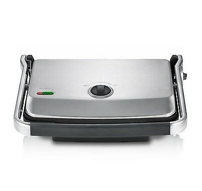 Sunbeam Sandwich Press Maker Non Stick Contact Grill BBQ Toaster Snack Toasted