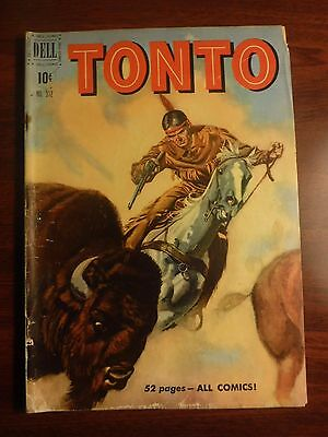 Tonto 312 (Four Color) Golden Age Western Comics Dell GD/VG