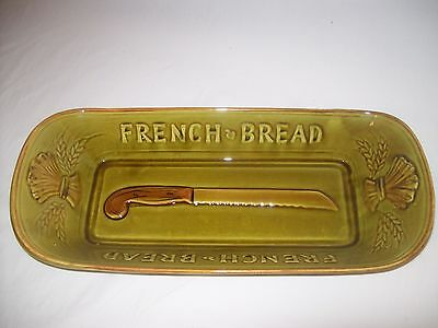 Vintage Los Angeles Potteries #325 French Bread Tray Bowl ~ EXC