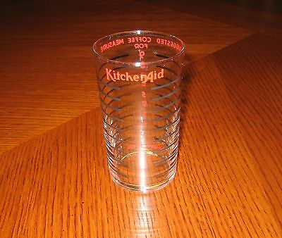 Vintage 1930's-1950's Hobart Kitchen Aid Coffee Glass Measure Cup For Grinder