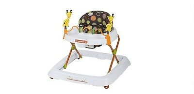 Baby Walker Safari Kingdom Bright Toddler Learning Toys Kid Seat Tray Wheels New