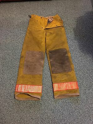 Firefighter Turnout Pants Size 30 X 32, Nomex