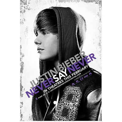 Justin Bieber Never Say Never Promo 8 x 10 Inch Photo