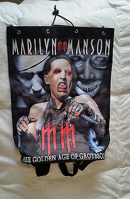 Marilyn Manson The Golden Age of Grotesque Backpack
