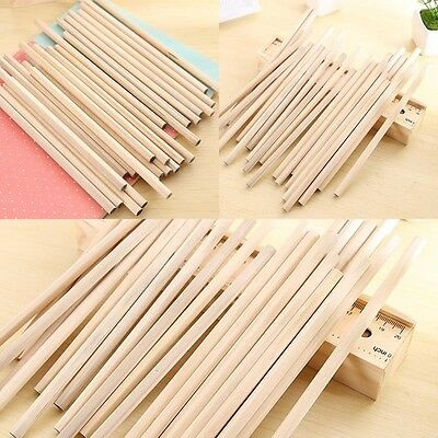 10pcs Wooden Wood Pencil Environmental Protection Pencil School Stationary