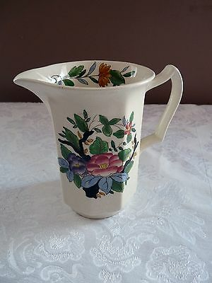 BOOTHS England Silicon China 2474H - 16oz CREAMER JUG Pitcher WOODSTOCK Pattern