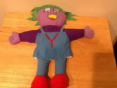 """Letter People Puppet The Letter Y Plush Puppet 15"""""""