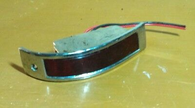 OEM 1964 Cadillac Deville and Convertible Door Panel Courtesy Light Housing Lens