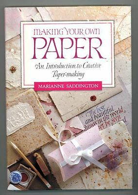 Make Your Own Paper - Hardcover Craft Book