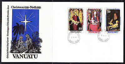 Vanuatu 1980 Christmas First Day  Cover