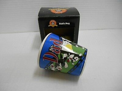 Sylvester & Son Dad Mug 1999 Looney Tunes Father's Day Christmas Gifts for Him