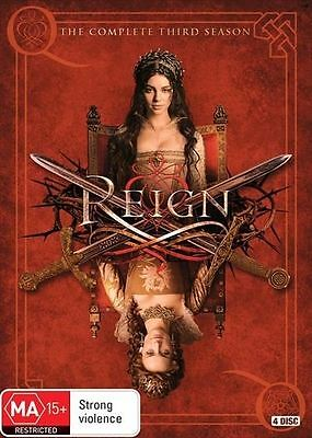 Reign The Complete Third Season 3 BRAND NEW SEALED R4 DVD