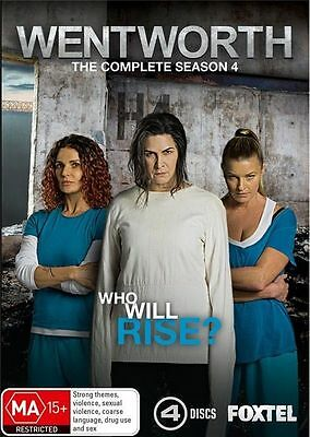 Wentworth The Complete Season 4 BRAND NEW SEALED R4 DVD