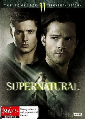 Supernatural The Complete Eleventh Season 11 SEALED R4 DVD Brand new