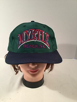 Myrtle Beach SC Cap Green