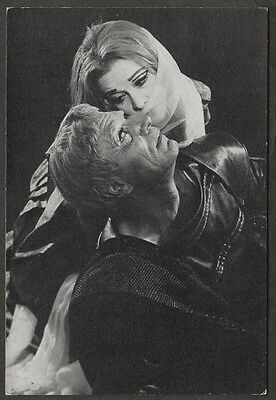 k1969) PC OF VIVIEN LEIGH & LAURENCE OLIVIER SHAKESPEARE THEATRE STRATFORD UK