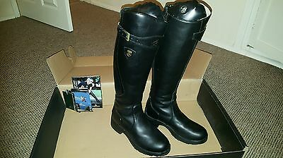 Mountain Horse Snowy River Riding Boots, Black, Size 6 Regular