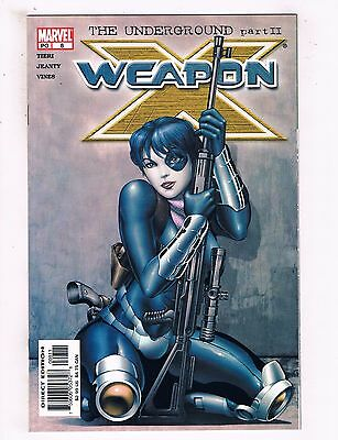 Lot Of 7 Weapon X Marvel Comic Books # 8 9 10 11 12 13 14 Wolverine Gambit TW6