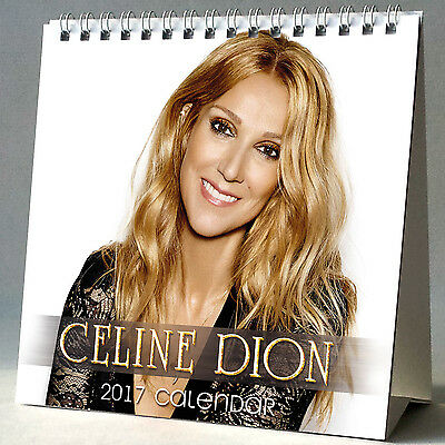Celine Dion Desktop Calendar 2017 NEW My Heart Will Go On The Power Of Love