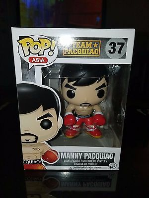 Manny Pacquiao Funko Pop Asia MINDSTYLE Boxer Team Pacquiao with Pop Protector