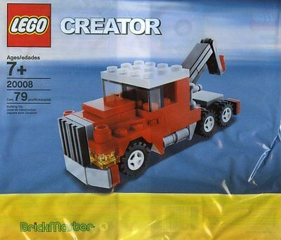 LEGO 20008 CREATOR Tow Truck - Brand New Free Shipping