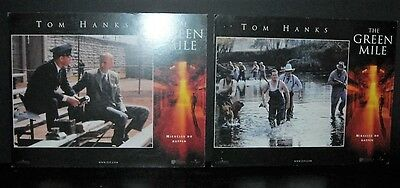 The Green Mile 1999 Original  2x 11x14 U.S lobby cards in Toploaders