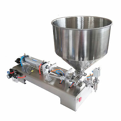 Honey,cream,cosmetic,sauce,tooth Paste Automatic Filling Machine 100-1000Ml Hot