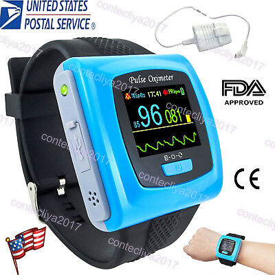 LED Heart Pulse Rate Blood Oxygen Finger Tip Oximeter SPO2 Saturation Monitor US