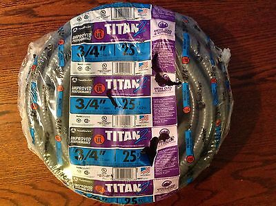 Titan2 Metallic Flexible Electrical Wiring Conduit 3/4 in x 25 ft Outdoor Burial