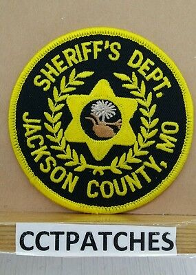 Jackson County, Missouri Sheriff (Police) Shoulder Patch Mo 2